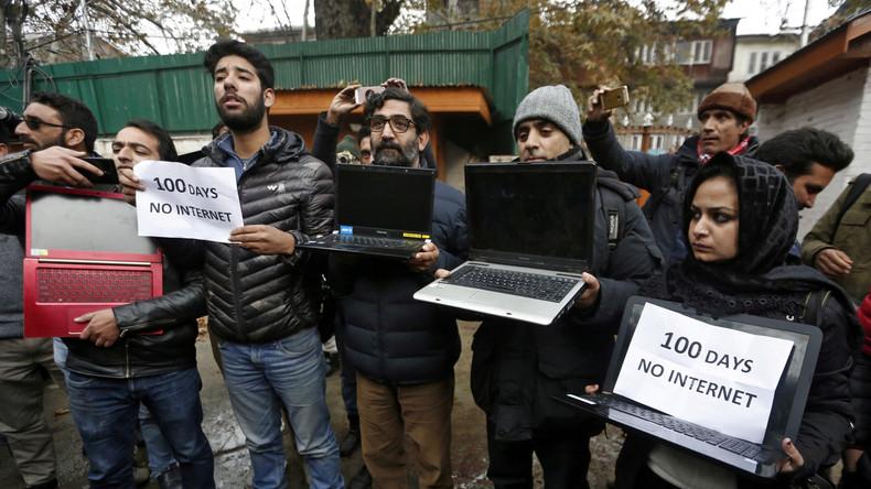 Indiens Oberster Gerichtshof erklärt Internetblockade in Kaschmir für illegal