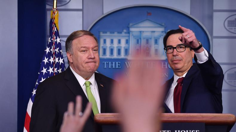 Wirtschaftskrieg: Washington verhängt weitere Sanktionen gegen den Iran