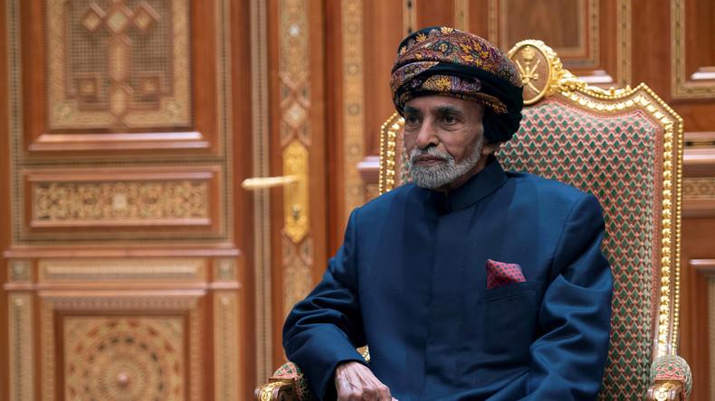 Vermittler am Persischen Golf: Sultan von Oman nach fast 50 Jahren an der Macht verstorben