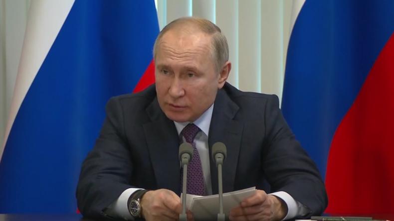 """Putin über Gesundheitssituation auf der Krim: """"In einem beklagenswerten Zustand"""""""