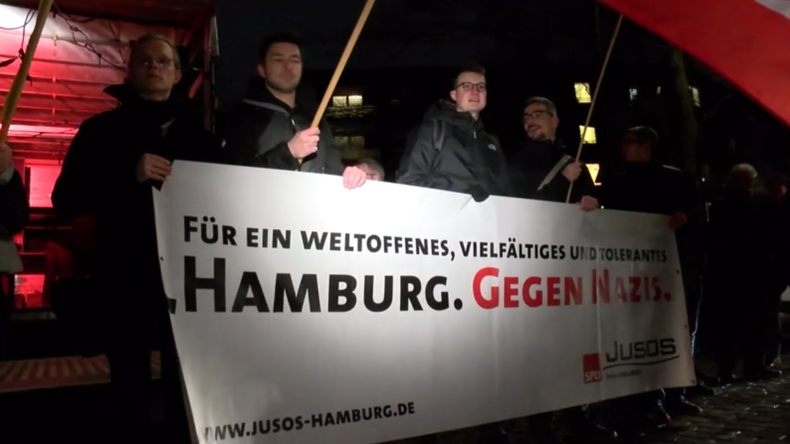 Deutschland: Hunderte protestieren gegen AfD-Parteitag in Hamburg