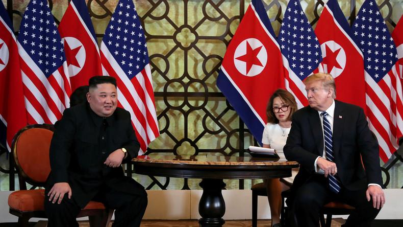 Nordkorea: Persönliche Sympathie von Kim und Trump nicht genug für Wiederaufnahme von Gesprächen