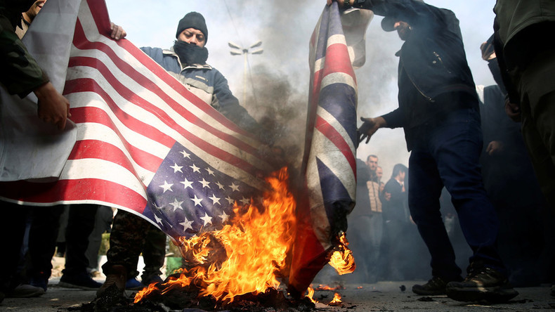 Iran: Trump twittert zu Protestlern, britischer Botschafter wegen Teilnahme einbestellt