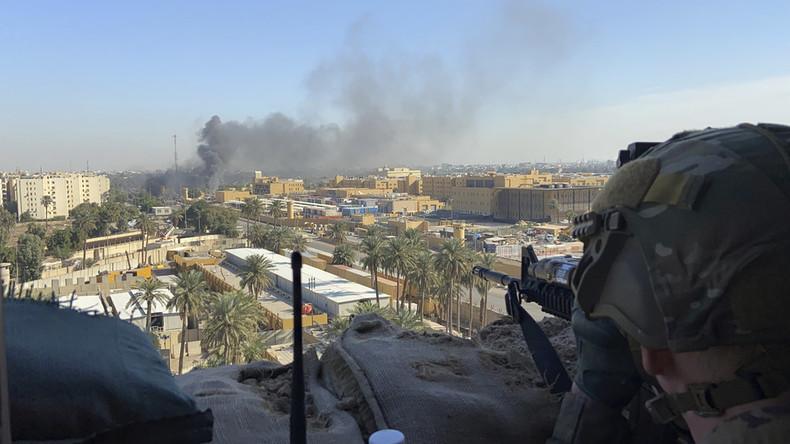 Irak: Raketenbeschuss auf US-Stützpunkt