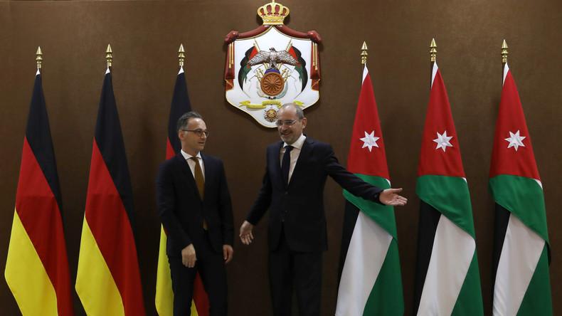 Wegen Spannungen im Iran und Irak: Heiko Maas in Jordanien