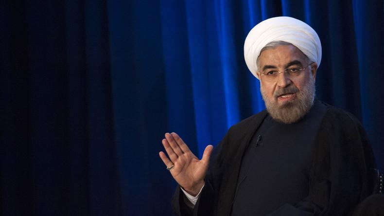 Iranischer Präsident erklärt Pentagon und US-Armee zu Terrororganisation