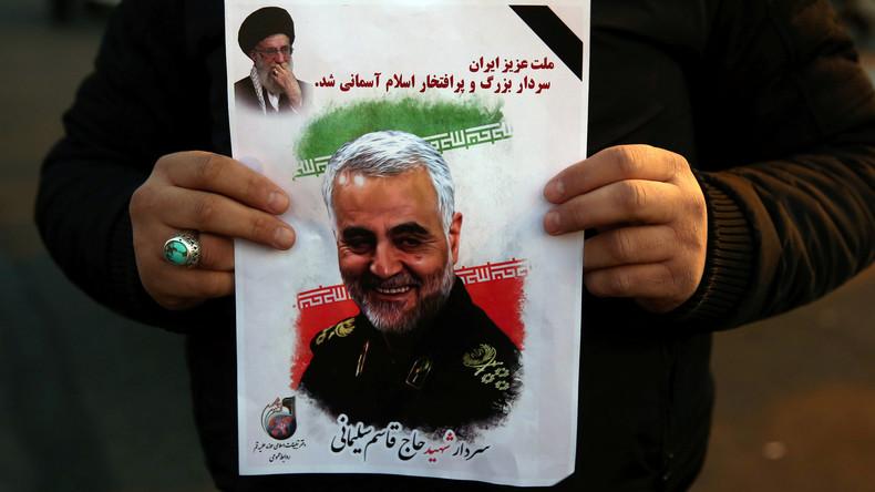 Um US-Sanktionen zu entsprechen: Instagram entfernt Beiträge zur Unterstützung von Soleimani
