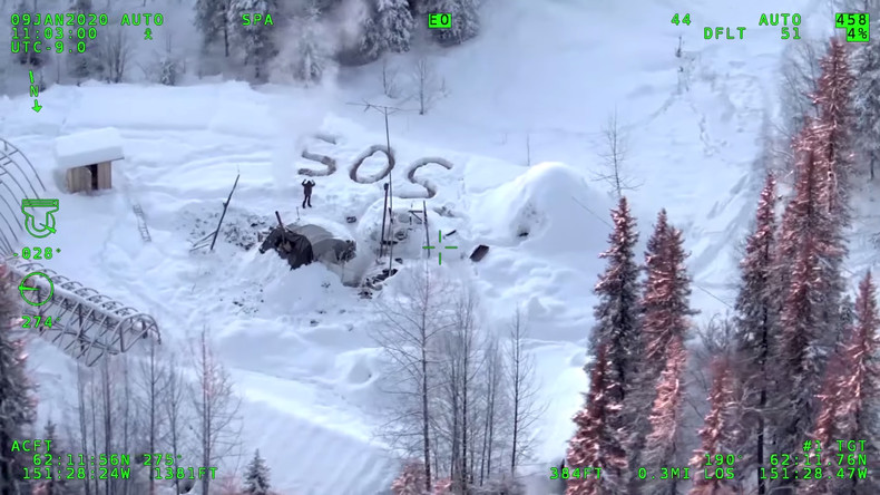 Mann überlebt drei Wochen in der eisigen Wildnis Alaskas (Video)