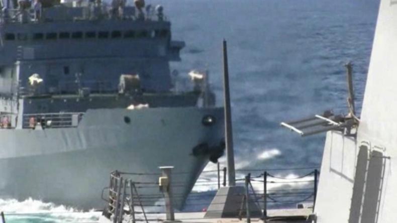 """Beinahe Kollision zwischen russischem und US-Schiff: """"USA entlarven sich mit Videobeleg selbst"""""""