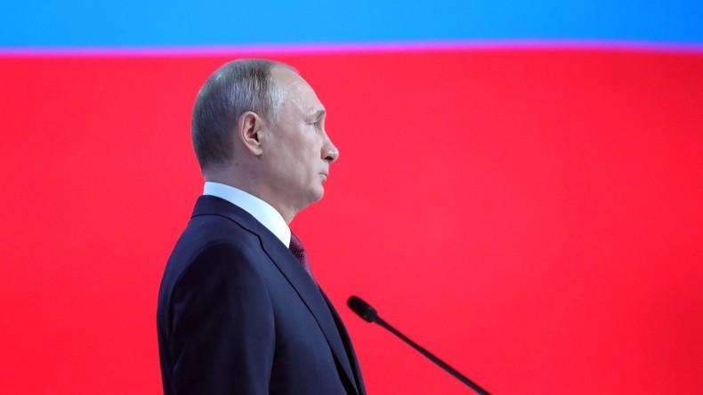 Vorankündigung: RT Deutsch sendet ab 10 Uhr Putins Rede zur Lage der Nation mit Simultanübersetzung