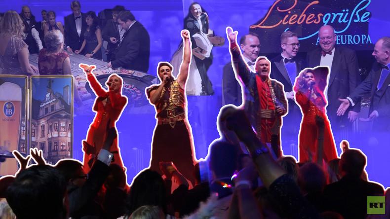 """Münchner Bier, Swing, """"Moskau"""" und kaum noch Presse: Der Berliner Presseball 2020"""
