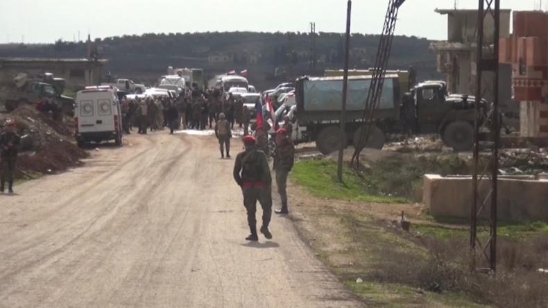 Idlib: Russland und Syrien schaffen Fluchtkorridore für Zivilisten aus Dschihadisten-Gebieten