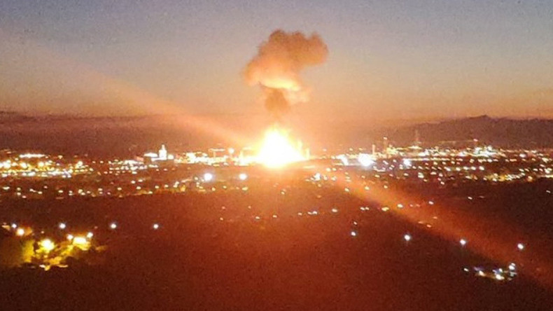 Spanien: Ein Toter und mehrere Verletzte bei Explosion und Brand in Chemiewerk