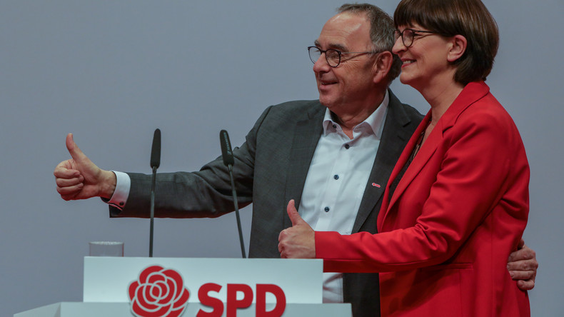 Umfrage: SPD mit neuer Parteispitze auf schlechtestem Wert seit fast einem halben Jahr