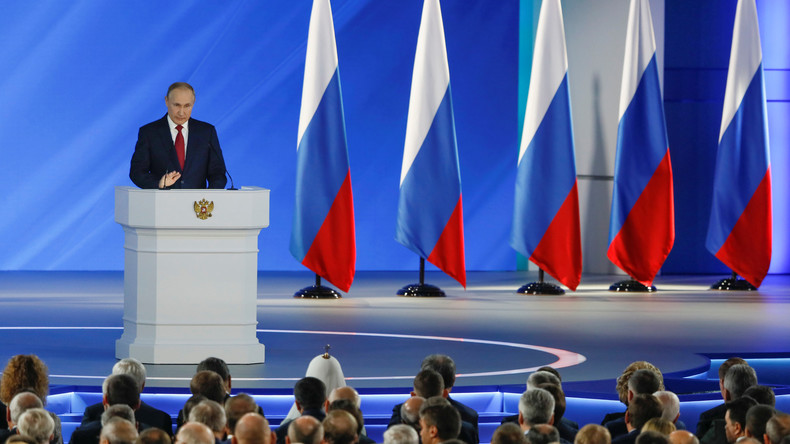 Gedanken nach Putins Rede zur Lage der Nation