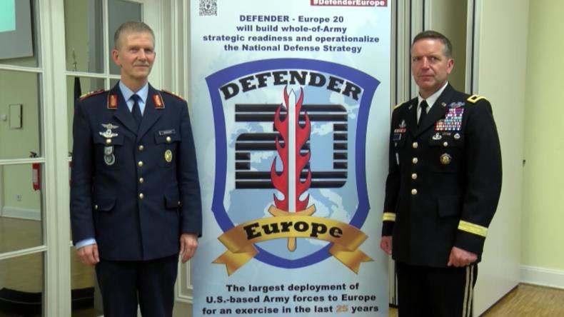 Deutschland als Hauptdrehkreuz: USA bringen 20.000 Soldaten samt Gerät nach Europa
