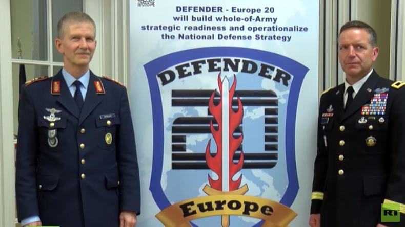 "Interview mit Generalleutnant Martin Schelleis zur Großübung ""Defender Europe 2020"" (Video)"