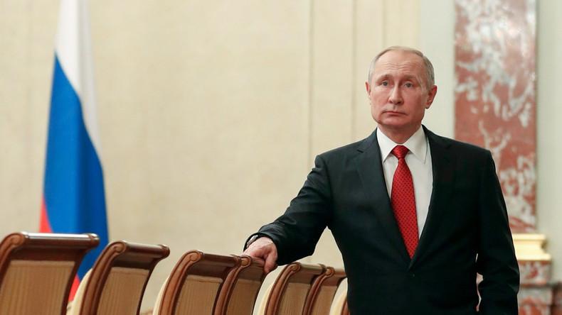 """Putin """"entmachtet"""" sich selbst (Video)"""