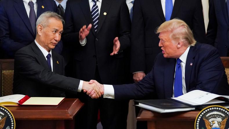 Ende der Eskalation: China und USA besiegeln erstes Handelsabkommen