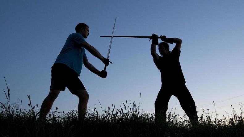 Die Rache des Samurai: US-Amerikaner will Konflikt mit Ex-Frau beim Schwertkampf beilegen