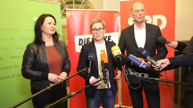 Thüringen: Rot-rot-grüne Minderheitsregierung rückt näher