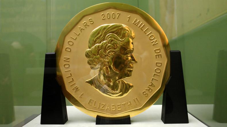 Zahlung voller Versicherungssumme: Besitzer der gestohlenen Goldmünze klagt gegen Versicherung