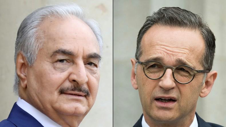 Vor Libyen-Gipfel: Laut Maas ist Haftar bereit, Waffenruhe einzuhalten