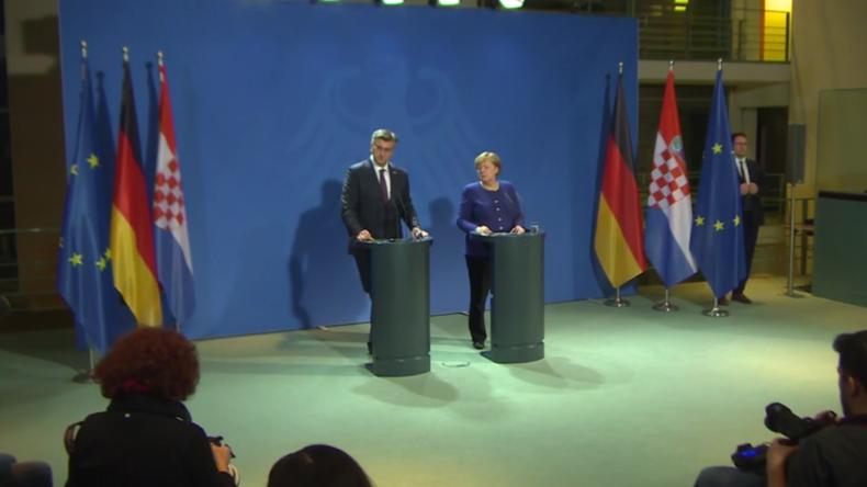 Deutschland: Merkel lobt General Haftars Bereitschaft zum Waffenstillstand