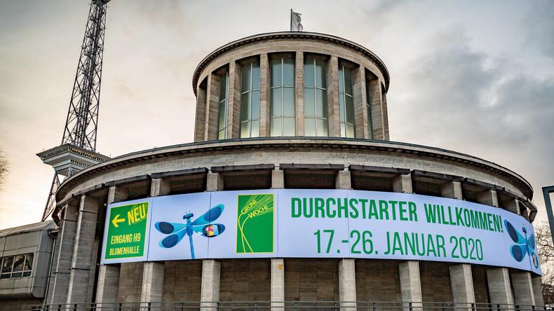 """""""Grüne Woche"""" in Berlin startet – Bauernproteste bundesweit angekündigt"""