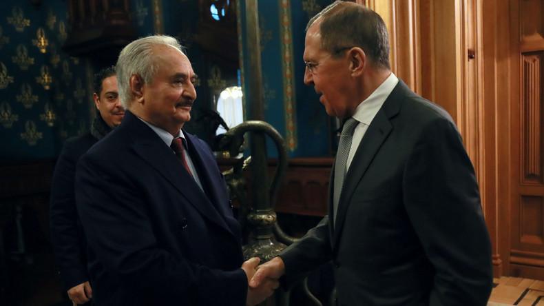 Russlands Außenminister: Waffenstillstand in Libyen wird eingehalten