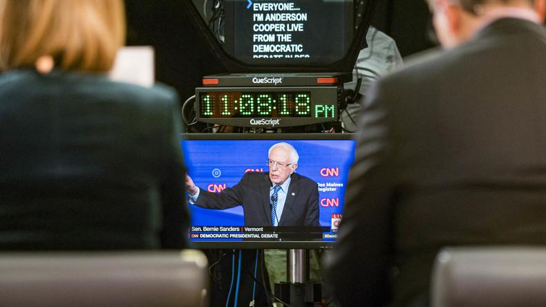 US-Präsidentschaftswahlkampf: Wie etablierte Medien Bernie Sanders ins Abseits drängen