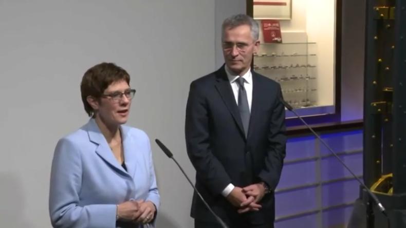 Deutschland: NATO-Chef Stoltenberg und Bundesverteidigungsministerin loben transatlantische Bindung