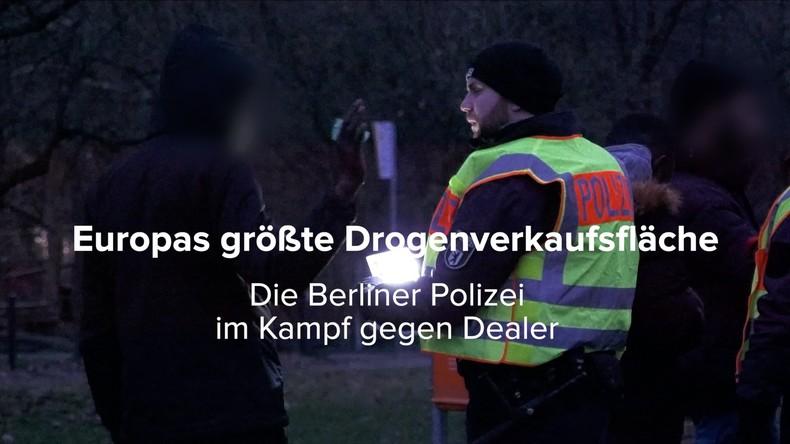 RT Exklusiv: Berliner Polizei im Kampf gegen Drogendealer