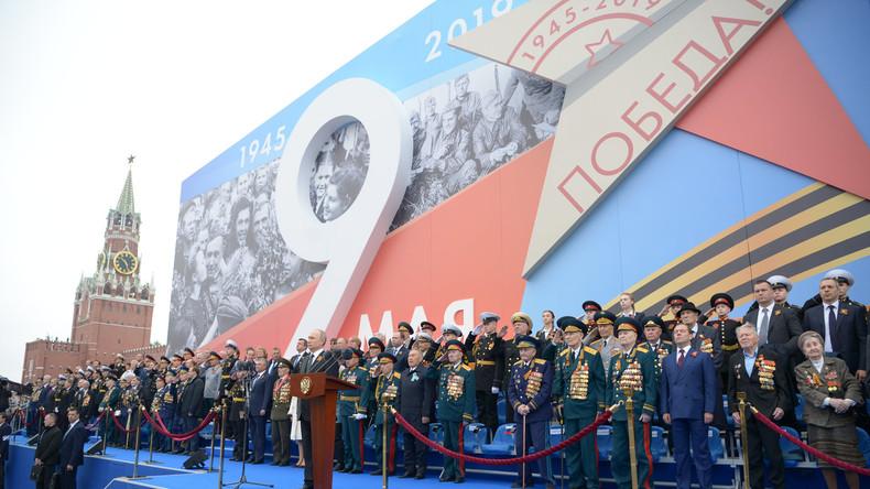 """""""Dreckige Münder schließen"""": Russland geht gegen Geschichtsumschreibung des Zweiten Weltkriegs vor"""
