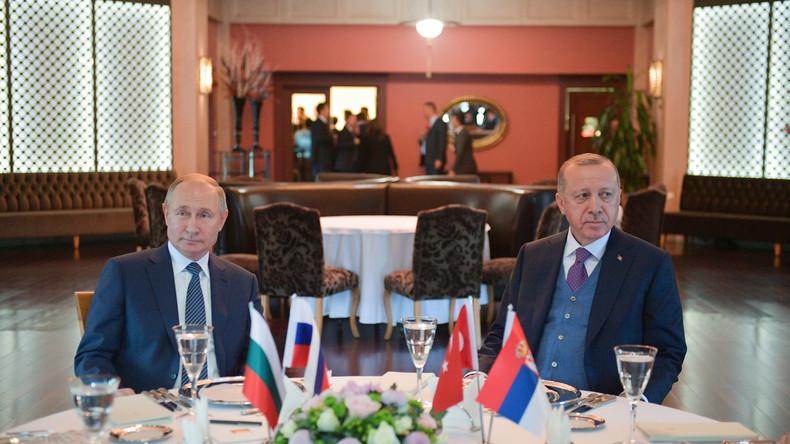 LIVE: Treffen zwischen Putin und Erdoğan am Rande der Libyen-Konferenz in Berlin