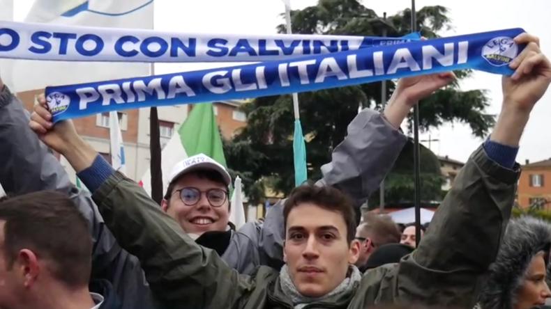 Italien: Salvini veranstaltetWahlkampf in historisch linker Region Emilia-Romagna