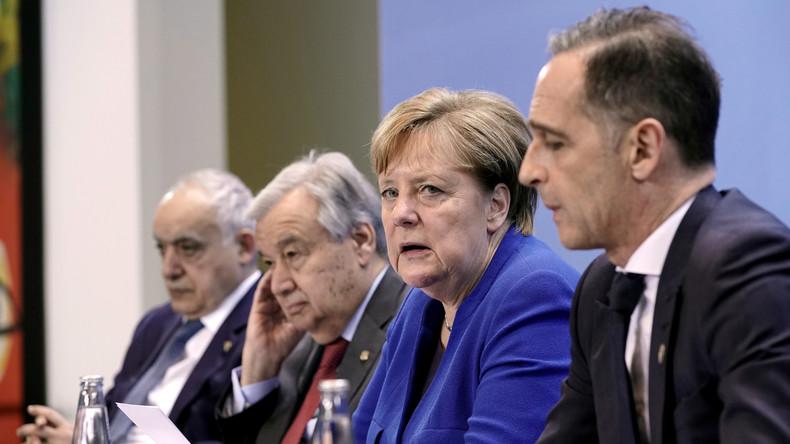 Live: Pressekonferenz zum Libyen-Gipfel in Berlin