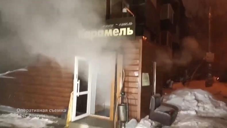 Russland: Fünf Tote bei Bruch einer Heißwasserleitung