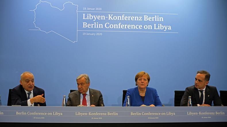 """Heiko Maas: Ziele der Libyen-Konferenz in Berlin """"erreicht"""""""