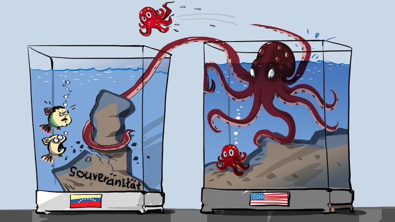 Sacharowa: US-Außenminister Pompeo hat Einmischung in innere Angelegenheiten vieler Länder zugegeben
