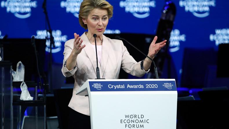 LIVE: Von der Leyen hält Rede beim Weltwirtschaftsforum in Davos