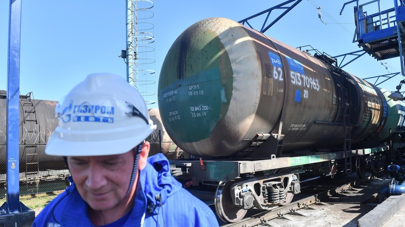Washingtons Rohrkrepierer: Russische Ölexporte stiegen im Jahr 2019 dank US-Sanktionen