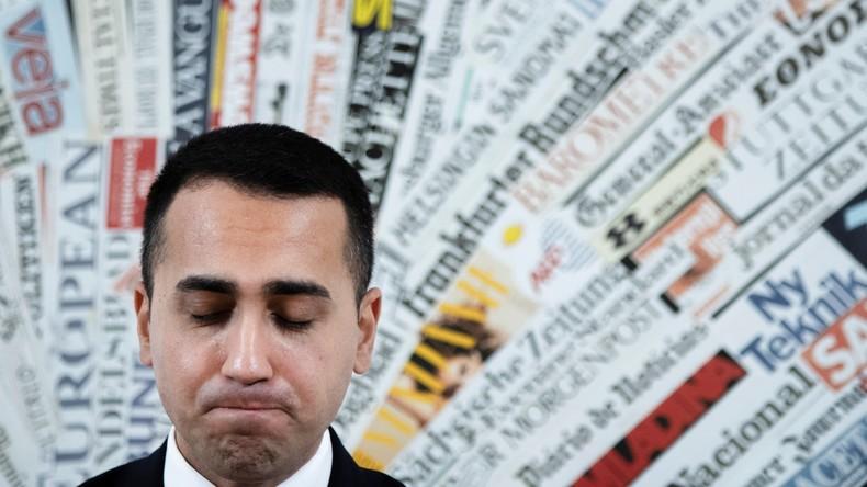 Italien: Di Maio tritt als Chef der Fünf-Sterne-Bewegung zurück