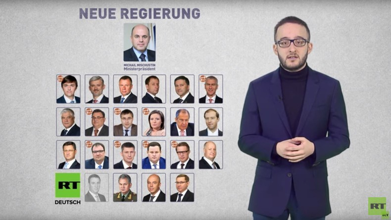 Russlands neues Kabinett: Die wichtigsten Personalien