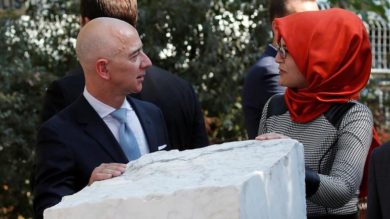 Waren es die Saudis? UN fordert Untersuchung zu gehacktem Handy von Amazon-Chef Bezos (Video)