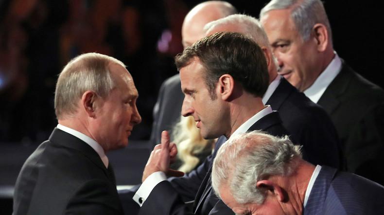 Macron befürwortet Putins Vorschlag für außerordentliches Treffen der UN-Sicherheitsratsmitglieder