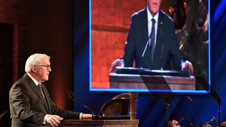 """Steinmeier beim Holocaust-Forum: """"Ich wünschte, ich könnte sagen, die Deutschen haben gelernt"""""""