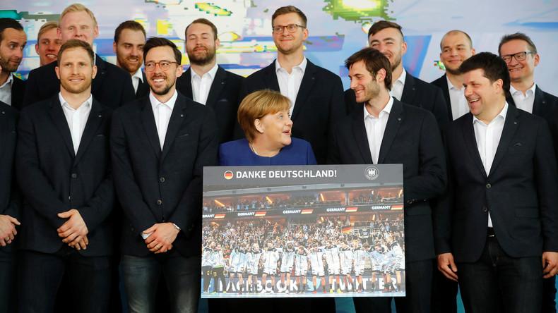 Die blonden Kartoffeln vom Deutschen Handballbund