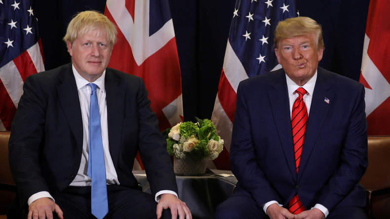 Trump droht Großbritannien mit neuem Handelskrieg nach Brexit