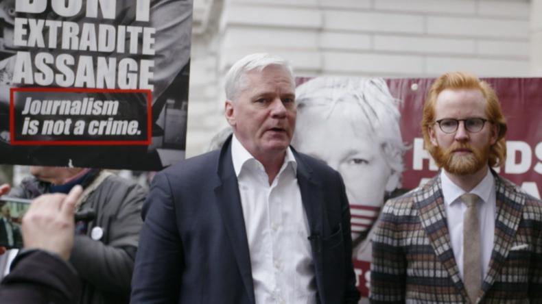 WikiLeaks-Chefredakteur: USA argumentieren nun, dass Ausländer kein Recht auf Pressefreiheit haben